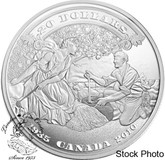 Canada: 2010 $20 75th Anniversary of the First Bank Notes Silver Coin