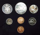 Canada: 1972 Specimen Double Penny Coin Set