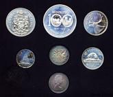 Canada: 1974 Specimen Double Penny Coin Set
