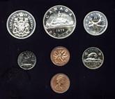 Canada: 1975 Specimen Double Penny Coin Set