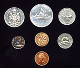 Canada: 1976 Specimen Double Penny Coin Set
