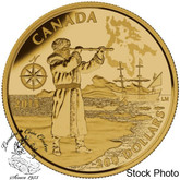 Canada: 2015 $200 Great Canadian Explorers: Henry Hudson Gold Coin