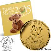 Canada: 2015 Baby Coin Set - Teddy Bear Loonie