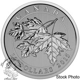 Canada: 2015 $10 Maple Leaf 1/2 oz Silver Coin