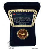Canada: 1987 1 Dollar Loonie Proof with Box & COA