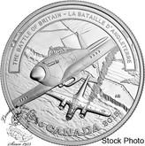 Canada: 2015 $20 Second World War Battlefront Series: The Battle of Britain Silver Coin