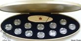 Canada: 1999 Silver Quarter 25 Cent Millennium Coin Set