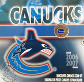 Canada: 2007 Vancouver Canucks Logo Coin Set with Coloured 25 Cent