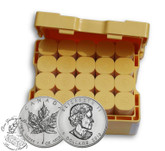 Canada: $5 1 oz .999 Pure Silver Maple Leaf Coins