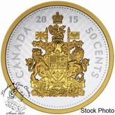 Canada: 2015 50 Cent Big Coin Series: 50-Cent Silver Coin
