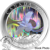Canada: 2015 $20 A Story of the Northern Lights: The Raven Silver Coin