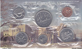 Canada: 1977 Proof Like / Uncirculated Coin Set Short Water Line Variety