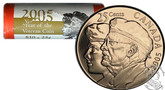 Canada: 2005 P Year of the Veteran 25 Cent Original Roll (40 Coins) - Special Wrap