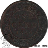 Canada: 1859 1 Cent Narrow 9 F12