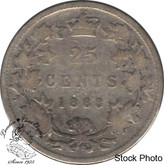 Canada: 1888 25 Cents Narrow 8Section 0 s G4