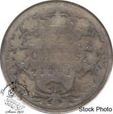 Canada: 1891 25 Cents AG3