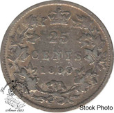 Canada: 1899 25 Cents F12