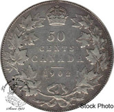 Canada: 1902 50 Cents VF20