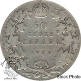 Canada: 1908 50 Cents VG8