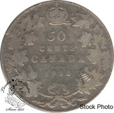 Canada: 1910 50 Cents Ed leafs G4