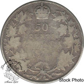 Canada: 1913 50 Cents G4