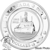 Canada: 2012 $20 50th Anniversary of the Canadian Coast Guard Pure Silver Coin