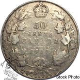 Canada: 1917 50 Cents VG8