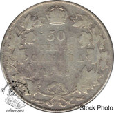Canada: 1918 50 Cents VG8