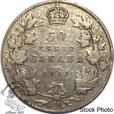 Canada: 1919 50 Cents VG8