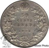 Canada: 1920 50 Cents small 0 F12