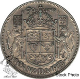 Canada: 1938 50 Cents VF20