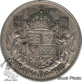 Canada: 1938 50 Cents EF40