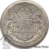 Canada: 1944 50 Cents Near 4 AU50