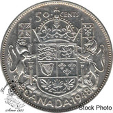 Canada: 1948 50 Cents F12