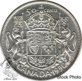 Canada: 1950 50 Cents Des 0 AU50