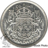 Canada: 1955 50 Cents AU50