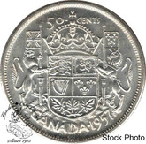 Canada: 1957 50 Cents MS62