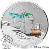 Canada: 2016 $25 for $25 Winter Fun Silver Coin