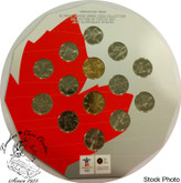 Canada: 2010 Vancouver Olympic Winter Games Coin Collection