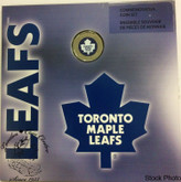 Canada: 2008 Toronto Maple Leafs Logo Coin Set with Coloured Dollar