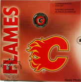 Canada: 2008 Calgary Flames Logo Coin Set with Coloured Dollar