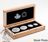 Canada: 2016 Wolf Silver Fractional Coin Set