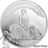 Canada: 2011 $10 75th Anniversary of the First Bank Notes Silver Coin