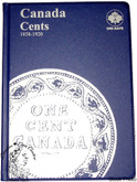 Canada: 1858 - 1920 Large Cents Uni-Safe Coin Folder
