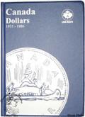 Canada: 1935 - 1986 $1 Dollars Uni-Safe Coin Folder