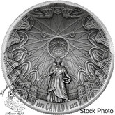 Canada: 2016 $25 The Library of Parliament Silver Coin