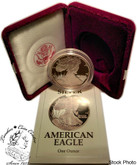 United States: 1991-S 1 Ounce Proof Silver American Eagle