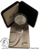 United States: 2007-W 1 Ounce Proof Silver American Eagle