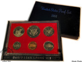 United States: 1981 Proof Coin Set