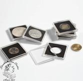 38 mm - Quadrum Square Coin Capsule (10 pack)
